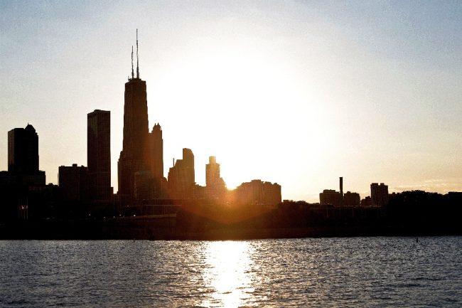 Chicago en soirée